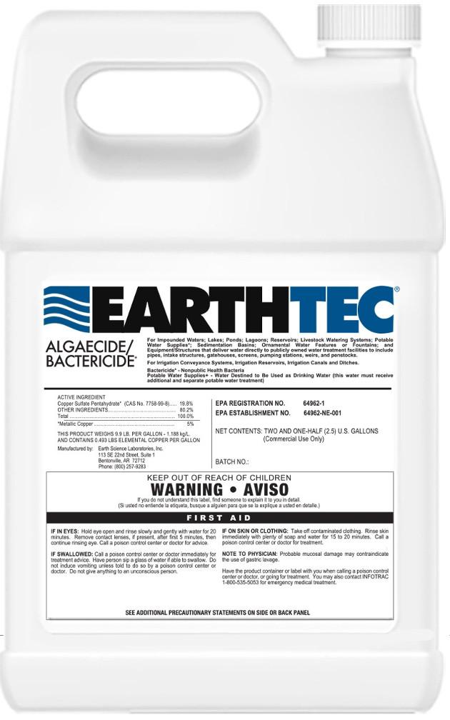 Algicidas / Baktericidas dumblių naikinimui tvenkiniuose su žuvimis – EarthTec®
