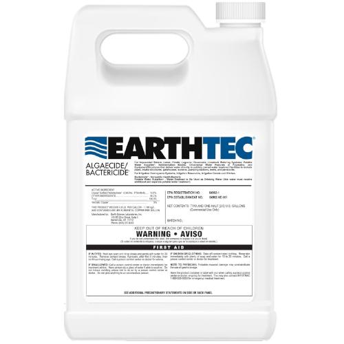 Algicidas/baktericidas dumblių naikinimui tvenkiniuose EarthTec