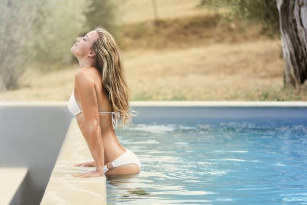 Baseinų, kubilų ir masažinių vonių vandens dezinfekcija be chloro