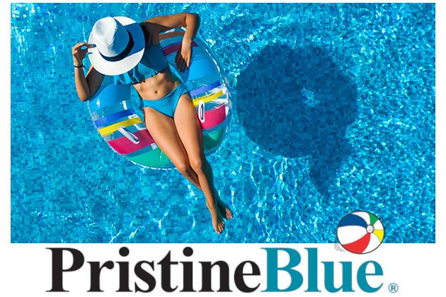 Pristine Blue® sistema kubilų, masažinių vonių, baseinų ir Spa baseinu vandens priežiūrai be chloro