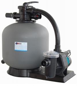 Baseino filtravimo blokas (smėlio filtras su siurbliu ir priešfiltriu) ViPool